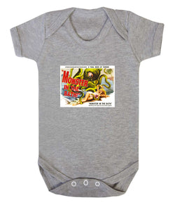 Monster in the Bath Babygrow - Badass Babies - 1