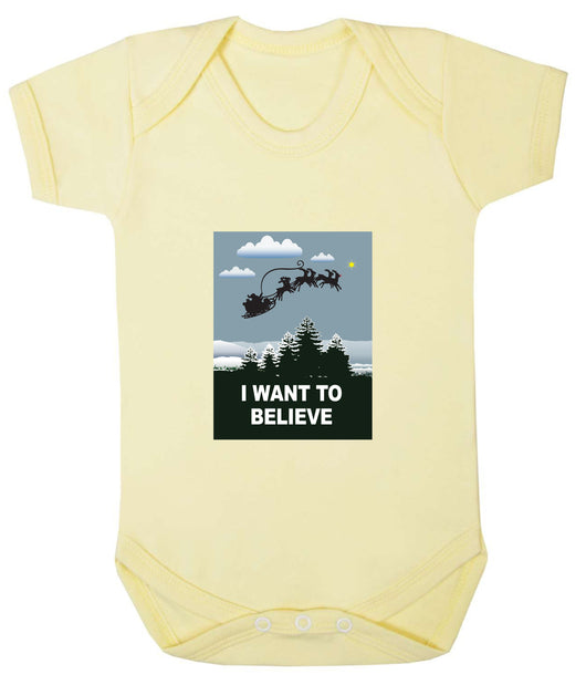 I Want To Believe Babygrow - Santa - Badass Babies - 6
