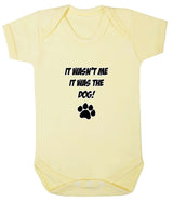 It Wasn't Me, It was the Dog! Baby Romper Bodysuit - Badass Babies - 6