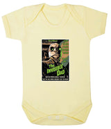 The Invisible Dad Babygrow - Badass Babies - 5