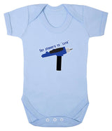 Set Phasers To Cute Babygrow - Badass Babies - 1