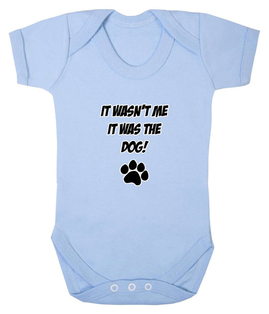 It Wasn't Me, It was the Dog! Baby Romper Bodysuit - Badass Babies - 1