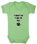 It Wasn't Me, It was the Dog! Baby Romper Bodysuit - Badass Babies - 7