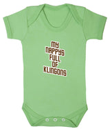My Nappy's Full of Klingons Babygrow - Badass Babies - 8