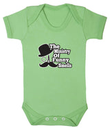 The Ministry of Funny Smells Babygrow - Badass Babies - 8