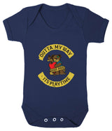 Outta My Way... Its Playtime Babygrow - Badass Babies - 8