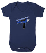 Set Phasers To Cute Babygrow - Badass Babies - 8