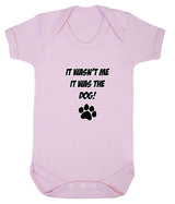 It Wasn't Me, It was the Dog! Baby Romper Bodysuit - Badass Babies - 9