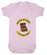 Outta My Way... Its Playtime Babygrow - Badass Babies - 9