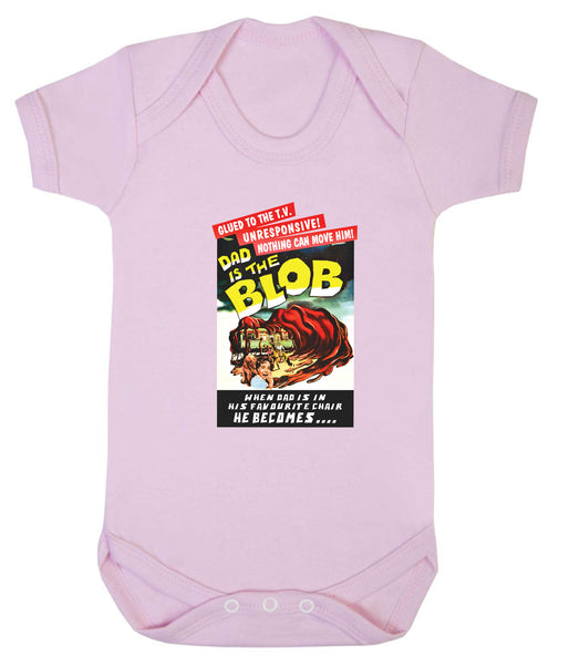 Dad is the Blob Babygrow - Badass Babies - 1