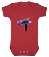 Set Phasers To Cute Babygrow - Badass Babies - 10