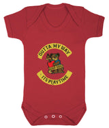 Outta My Way... Its Playtime Babygrow - Badass Babies - 10