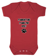 It Wasn't Me, It was the Dog! Baby Romper Bodysuit - Badass Babies - 10