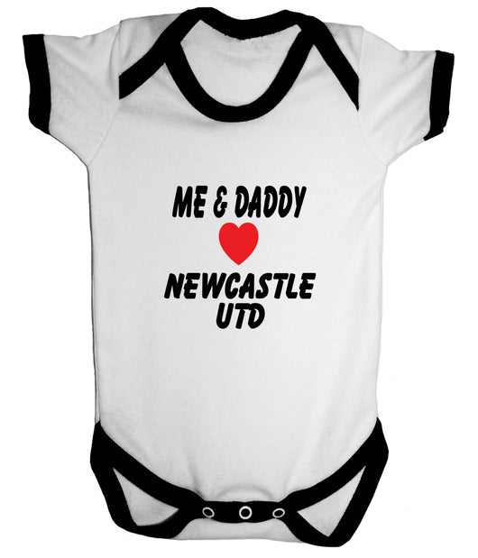 Newcastle United Football Babygrow - Badass Babies