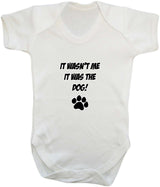 It Wasn't Me, It was the Dog! Baby Romper Bodysuit - Badass Babies - 11