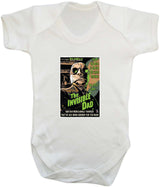 The Invisible Dad Babygrow - Badass Babies - 11