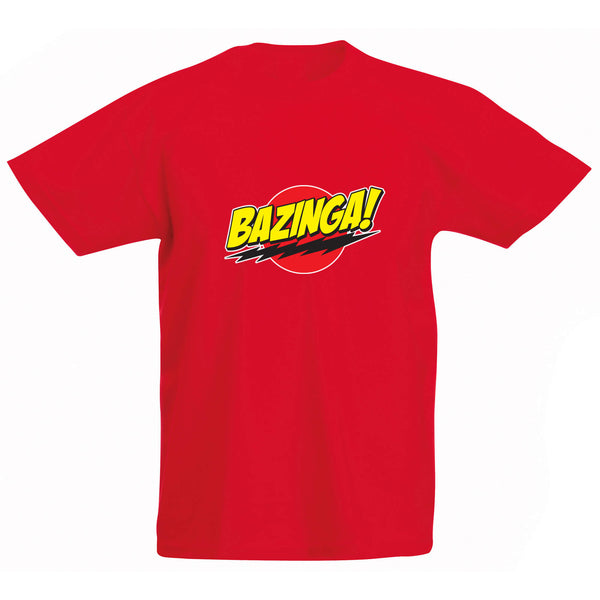 Bazinga Kids T-Shirt