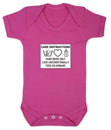 Care Instructions Babygrow - Badass Babies - 2