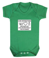 Care Instructions Babygrow - Badass Babies - 3