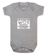 Care Instructions Babygrow - Badass Babies - 4