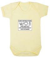 Care Instructions Babygrow - Badass Babies - 5