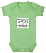 Care Instructions Babygrow - Badass Babies - 7