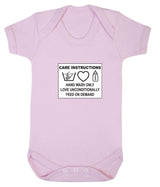 Care Instructions Babygrow - Badass Babies - 9