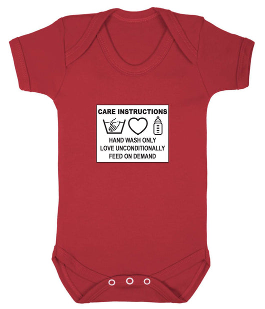 Care Instructions Babygrow - Badass Babies - 10