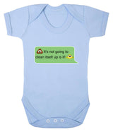 Poos Not Going To Clean Its Self Up Emoji Babygrow - Badass Babies - 6
