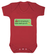 Poos Not Going To Clean Its Self Up Emoji Babygrow - Badass Babies - 10