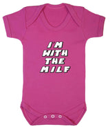 Im With The MILF Babygrow - Badass Babies - 8