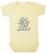 Im With The MILF Babygrow - Badass Babies - 11