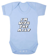 Im With The MILF Babygrow - Badass Babies - 1