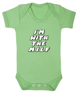 Im With The MILF Babygrow - Badass Babies - 2