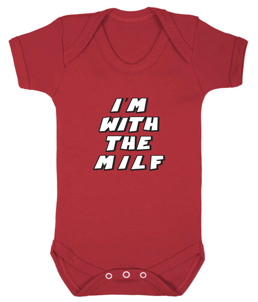 Im With The MILF Babygrow - Badass Babies - 5