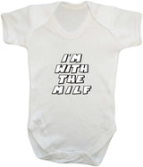 Im With The MILF Babygrow - Badass Babies - 6