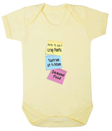 Note To Self Babygrow - Badass Babies - 10