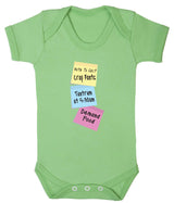 Note To Self Babygrow - Badass Babies - 1