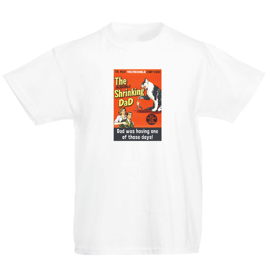 The Incredible Shrinking Dad Kids T-Shirt