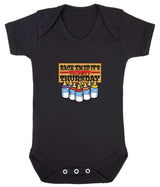 Thirsty Thursday Babygrow - Badass Babies - 11