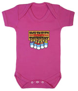 Thirsty Thursday Babygrow - Badass Babies - 1
