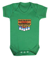 Thirsty Thursday Babygrow - Badass Babies - 2
