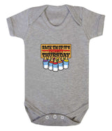 Thirsty Thursday Babygrow - Badass Babies - 3