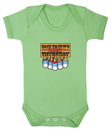 Thirsty Thursday Babygrow - Badass Babies - 6