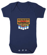 Thirsty Thursday Babygrow - Badass Babies - 7