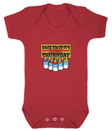 Thirsty Thursday Babygrow - Badass Babies - 9