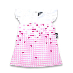 Six Bunnies Baby Dress - Rising Hearts - Badass Babies