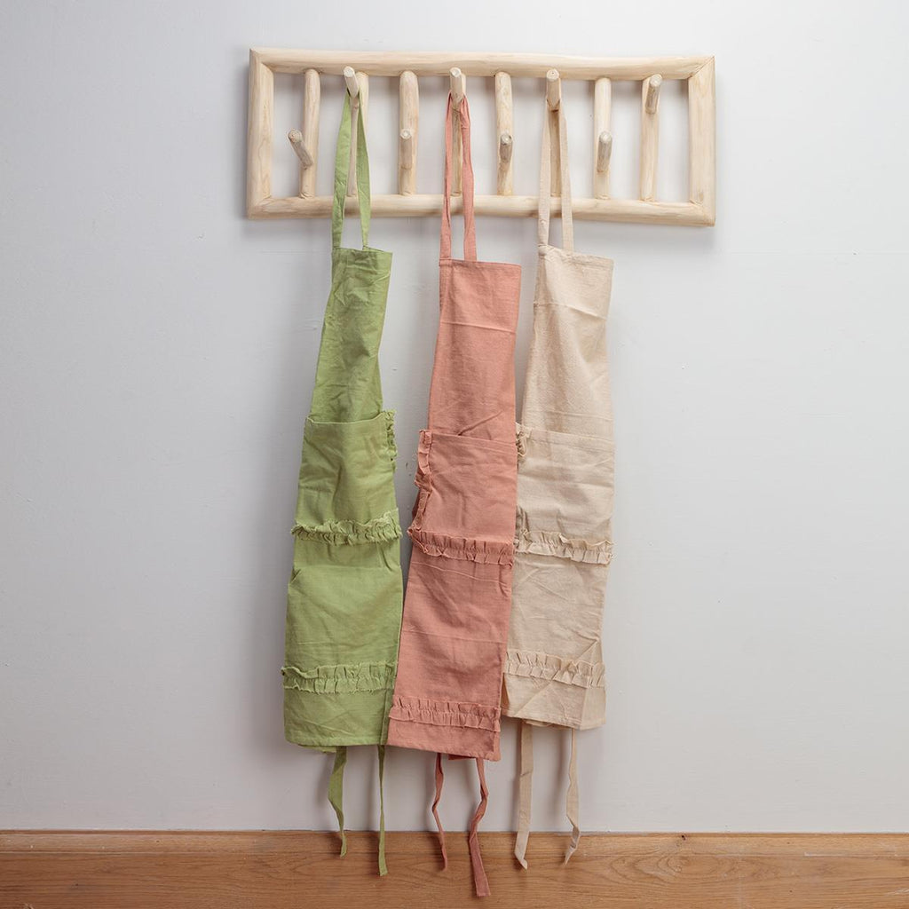 Cotton Apron with frills