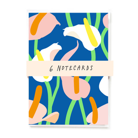 Lillies notecards
