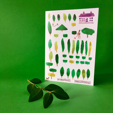 Greenfingers card A6
